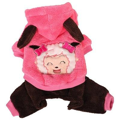 Cute Costplay Fashion Dog Clothes Dog Clothing Pet Clever pink XS