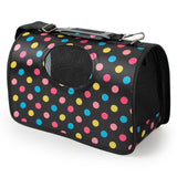 Cute Designs Pet Carrier Travel Bag Dog Carrier & Travel Pet Clever Colorful Dot S