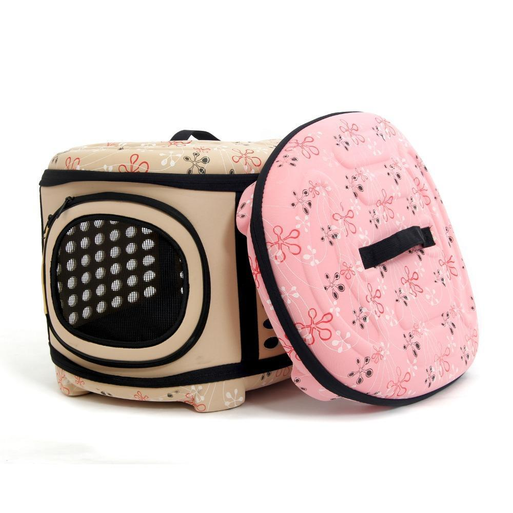 Cute Portable Pet Carrier Travel Bag Dog Carrier & Travel Pet Clever