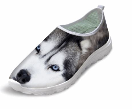 Cute Style Dog Printing Air Mesh Shoes Dog Design Footwear Pet Clever 1