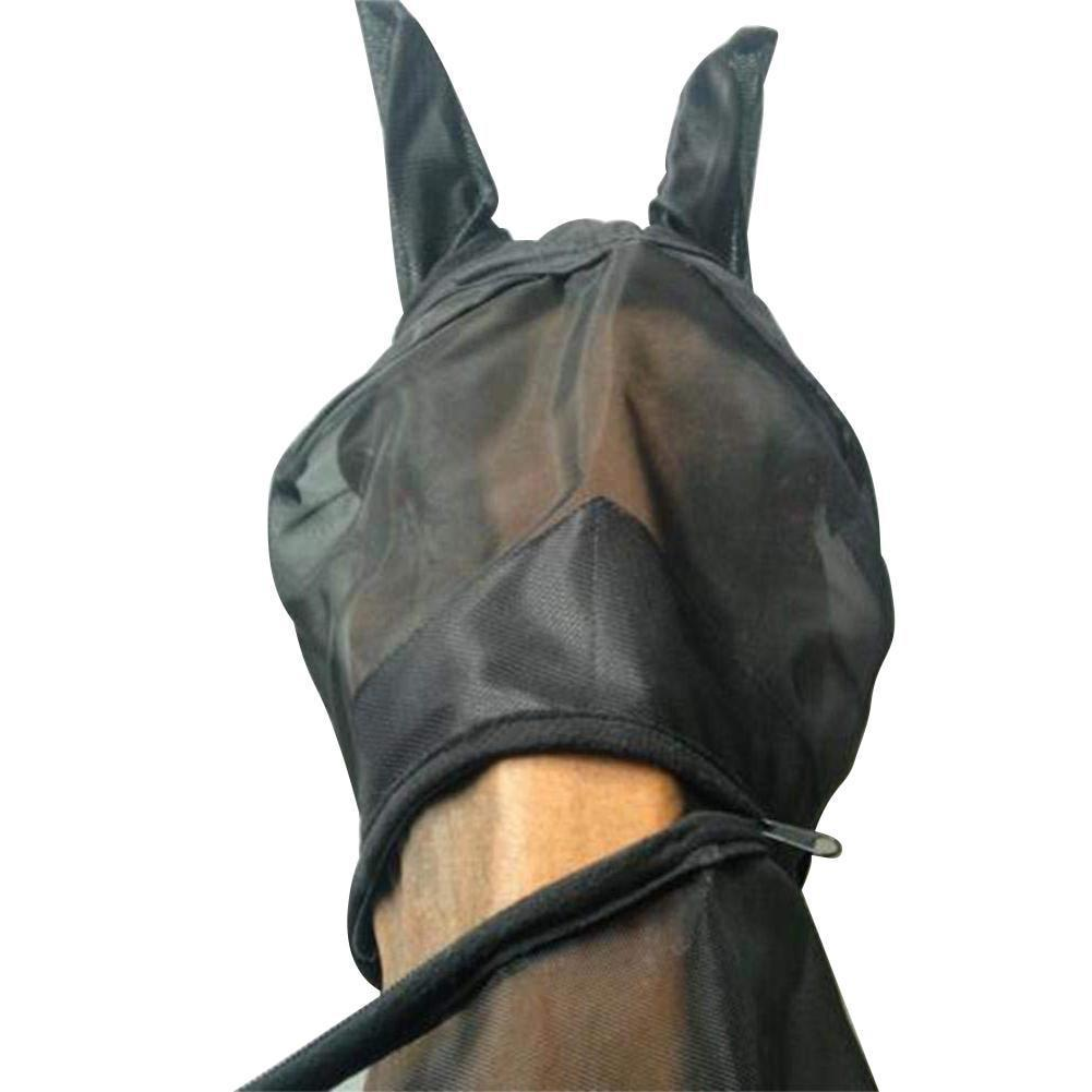 Detachable Horse Mesh Mask With Nasal Cover Horse Mask Pet Clever