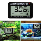 Digital Aquarium Thermometer LCD Screen Sensor Aquarium Thermometer Pet Clever
