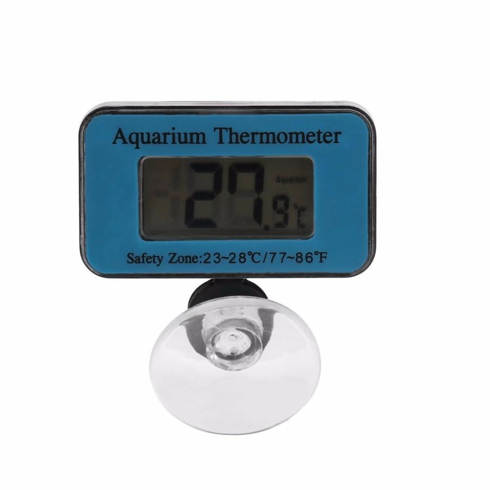 Digital Submersible Fish Tank Aquarium LCD Thermometer Temperature Meter Aquarium Thermometer Pet Clever