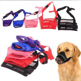 Dog Adjustable Soft Mask Dog Leads & Collars Pet Clever