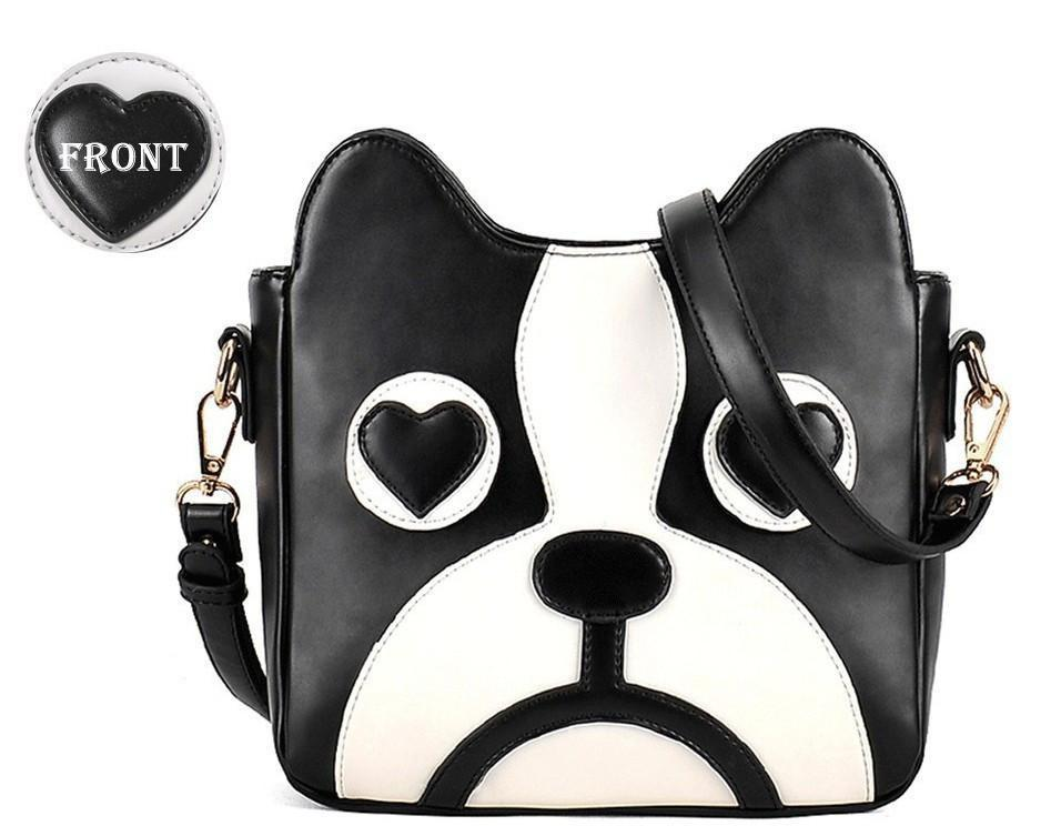 Dog Cartoon Messenge Cross Body Bag Dog Design Bags Pet Clever