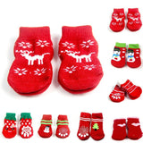 Dog Christmas Socks Cat Clothing Pet Clever