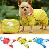 Dog Jumpsuit Raincoat Dog Carrier & Travel Pet Clever