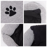 Dog Kennel Detachable Cushion Mat Sleeping Bed Nest Dog Beds & Blankets Pet Clever