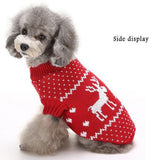 Dog Sweater Clothes For Holiday Times Dog Clothing Pet Clever Red L