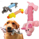 Dog Toy Chew Squeaker(Duck ,Pig & Elephant) Dog Toys Sport & Training Pet Clever