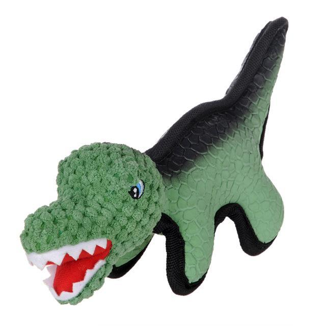 Dog Training Squeaker Chew Toy Dog Toys Sport & Training Pet Clever Tyrannosaurus Rex