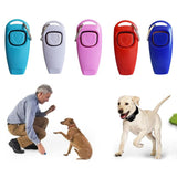 Dog Training Whistle Clicker Toys Pet Clever