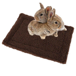 Double Sided Fleece Rabbit Mat