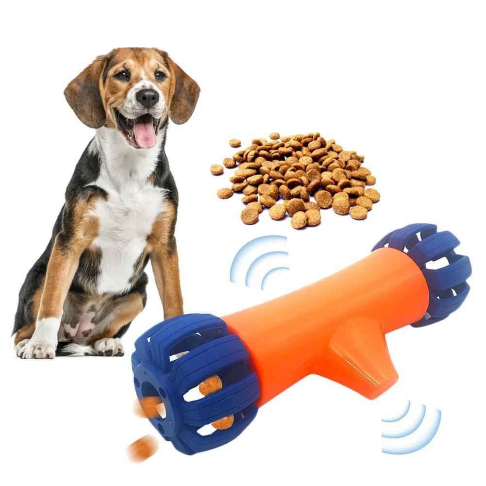 Electric Dog Leaking Food Toy Dog Bowls & Feeders Pet Clever