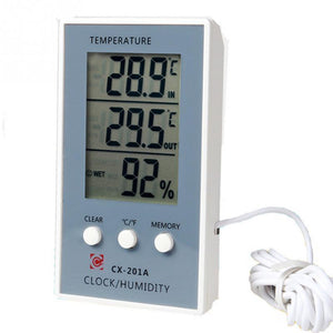 Electric Hygrothermograph Aquarium Screen Display Thermometer Aquarium Thermometer Pet Clever