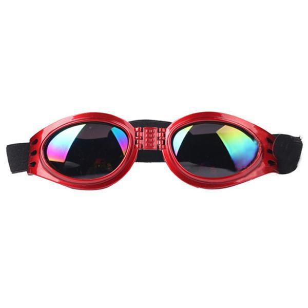 Eye Protection Goggles For Dog Dog Carrier & Travel Pet Clever Red
