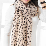 Fashionable Chiffon Cat Scarf Cat Design Accessories Pet Clever Khaki