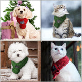 Fashionable Christmas Winter Scarf Scarfs Pet Clever