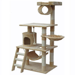 Faux Fur Cat Tree Furniture