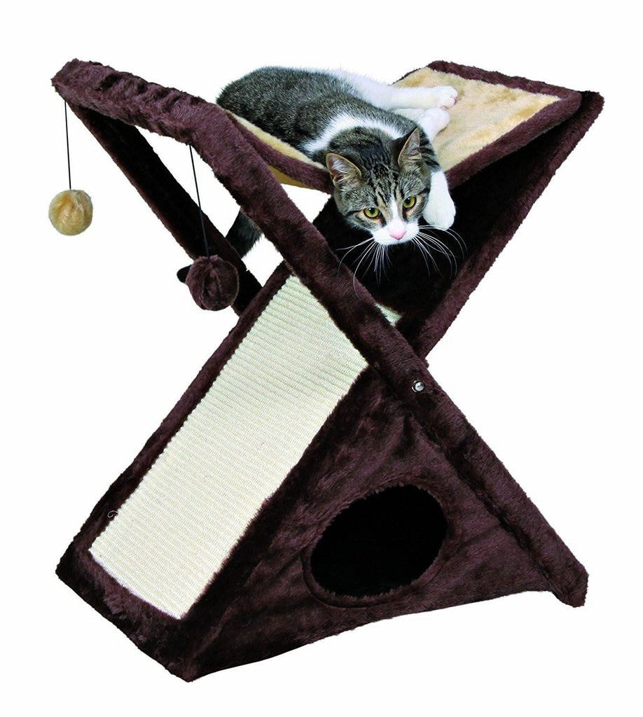 Fold and Store Cat Tower Cat Trees & Scratching Posts Pet Clever