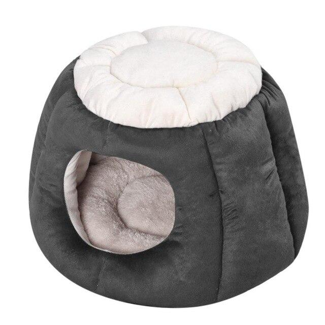 Foldable Pet Cave Shaped Sleeping Pad Dog Beds & Baskets Pet Clever