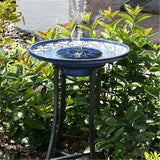 Garden Fountain Bird Outdoor Bath Bird Bath Pet Clever