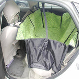 Hammock Car Seat & Carrier For Any Sized Pets Dog Carrier & Travel Pet Clever Green (Pattern)