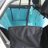 Hammock Car Seat & Carrier For Any Sized Pets Dog Carrier & Travel Pet Clever Blue
