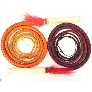 Hand Made Braided Horse Whips Flogger For Horse Racing Horse Whip Pet Clever
