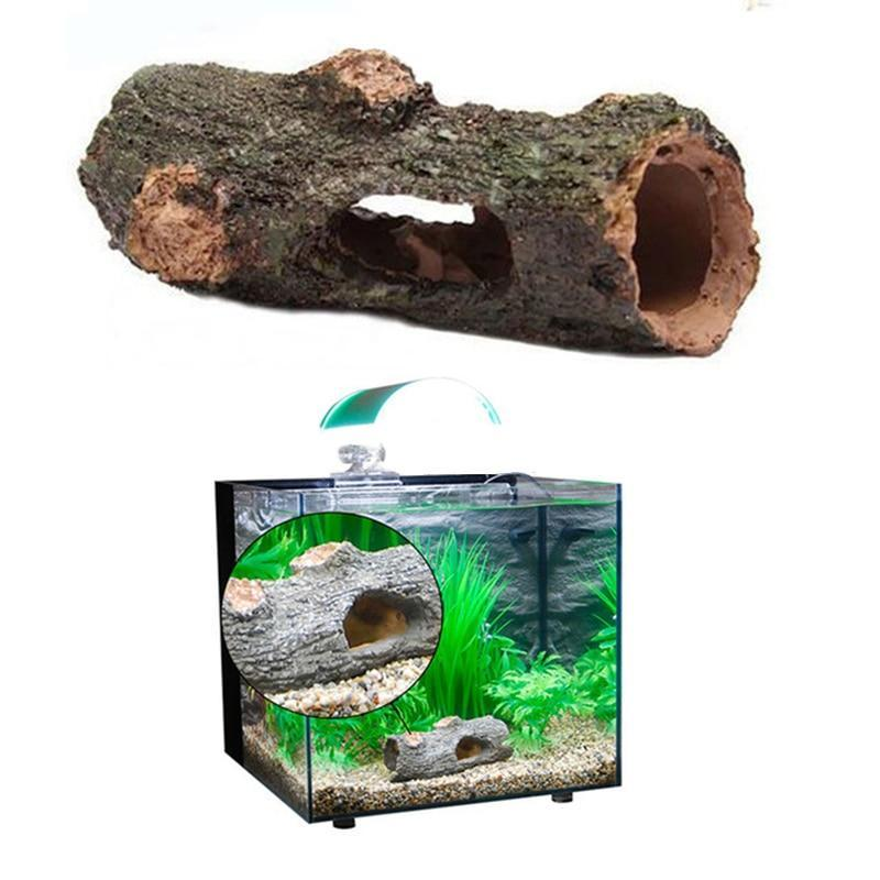 Hollow Trunk Aquarium Decoration Aquarium Decoration Pet Clever
