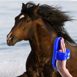 Horse Hair Care Buffing Massage Brush Horse Brushes Pet Clever