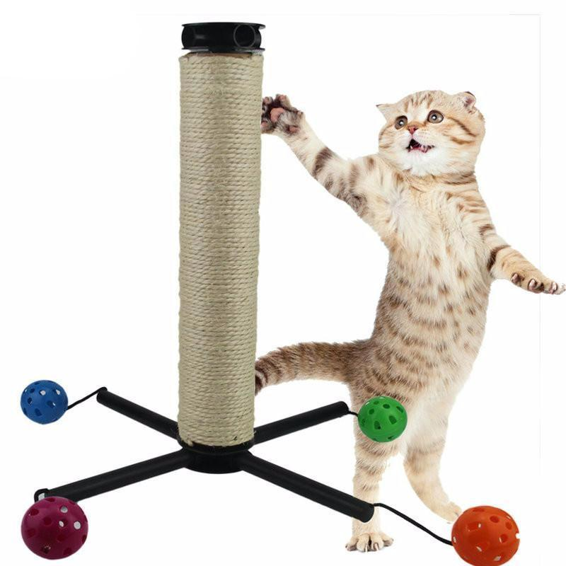 Interactive Corrugated Training Paper Cat Scratching Post Cat Trees & Scratching Posts Pet Clever