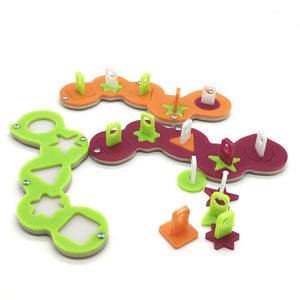 Interactive Pattern Puzzle Training Bird Toys Training Toys Pet Clever
