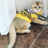 Knitted Pet Jumper Cat Clothing Pet Clever