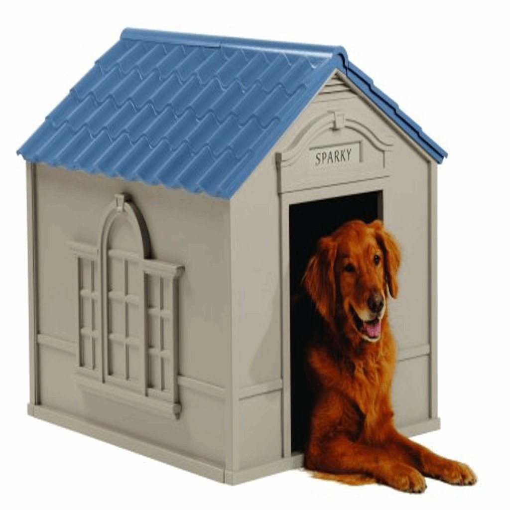 Large Deluxe Dog House Dog Beds & Blankets Pet Clever