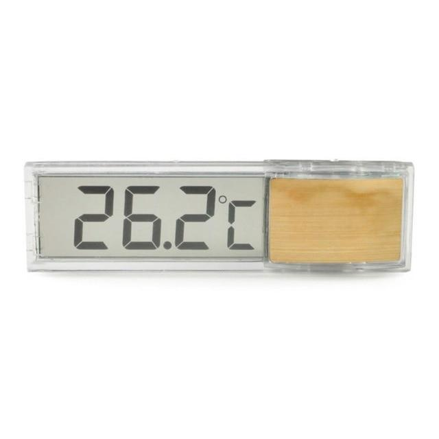 LCD 3D Digital Display Aquarium Thermometer Aquarium Thermometer Pet Clever Gold