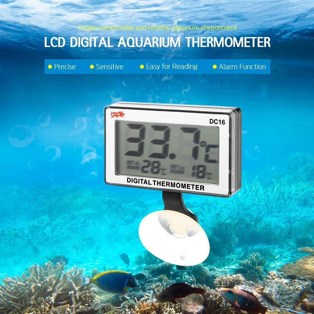 LCD Digital Aquarium Thermometer Aquarium Thermometer Pet Clever