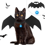 LED Bat Wing Costume for Pets Cat Clothing Pet Clever
