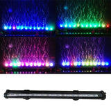 LED Fish Tank Submersible Air Bubble Light Bar with Remote Lightings Pet Clever