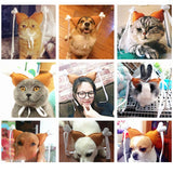 Leg Hair Loop Cosplay Costume Chicken Cat Head Wear Cat Clothing Pet Clever