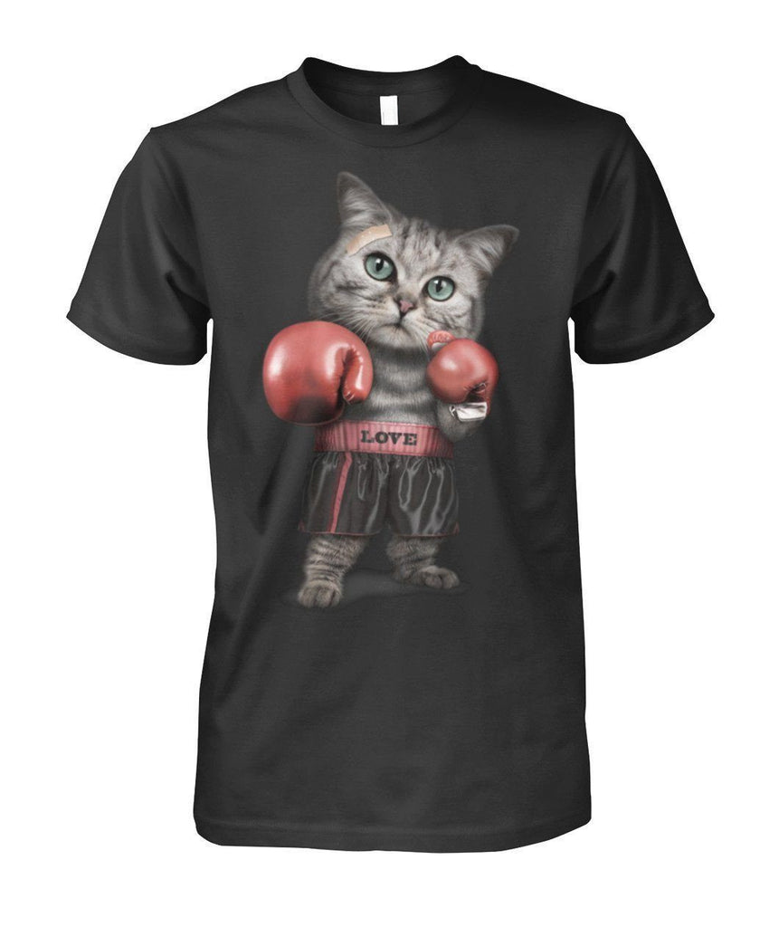 "Limited Edition ""Boxing Cat"" Shirt Apparel ViralStyle Black S"
