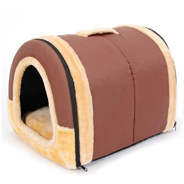 Lovely Circular Soft Cat and Dog Bed Pet House Dog Beds & Blankets Pet Clever Color A S