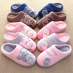 Lovely Cute Cat Design Indoor Slippers
