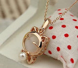 Lucky Cat Necklaces & Pendants Cat Design Jewelry Pet Clever White