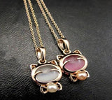 Lucky Cat Necklaces & Pendants Cat Design Jewelry Pet Clever