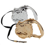 Luxury Gold/Silver Dog Leash Dog Leads & Collars Pet Clever