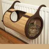 Luxury Hammock Radiator Bamboo Bed Cat Beds & Baskets Pet Clever