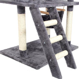 Luxury Multi-layer Cat Climbing Tree Furniture Cat Trees & Scratching Posts Pet Clever