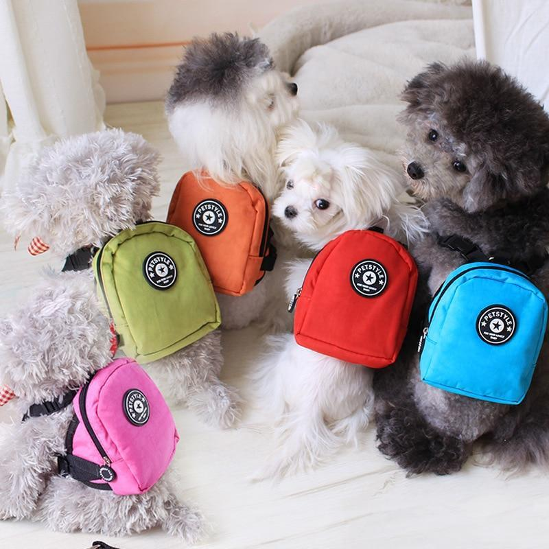 Multi-function Dog Backpack With Harness Leash