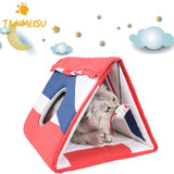 Multi-functional Cat Climbing Frame Board Scratching Cattery Mat Toy Cat Toys Pet Clever